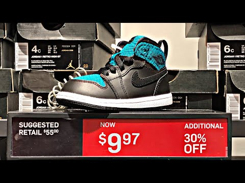 prices at the Nike Outlet Store