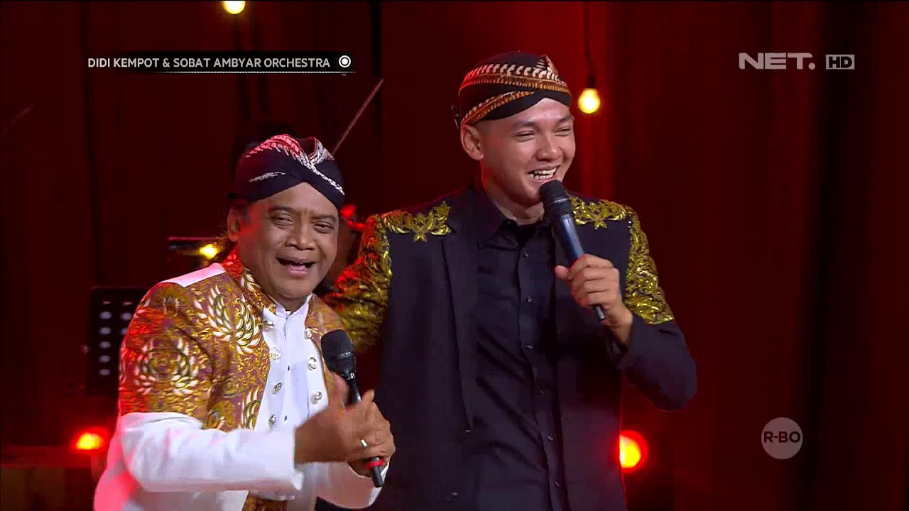 Didi Kempot Sobat Ambyar Orchestra Kangen Neng Nickerie