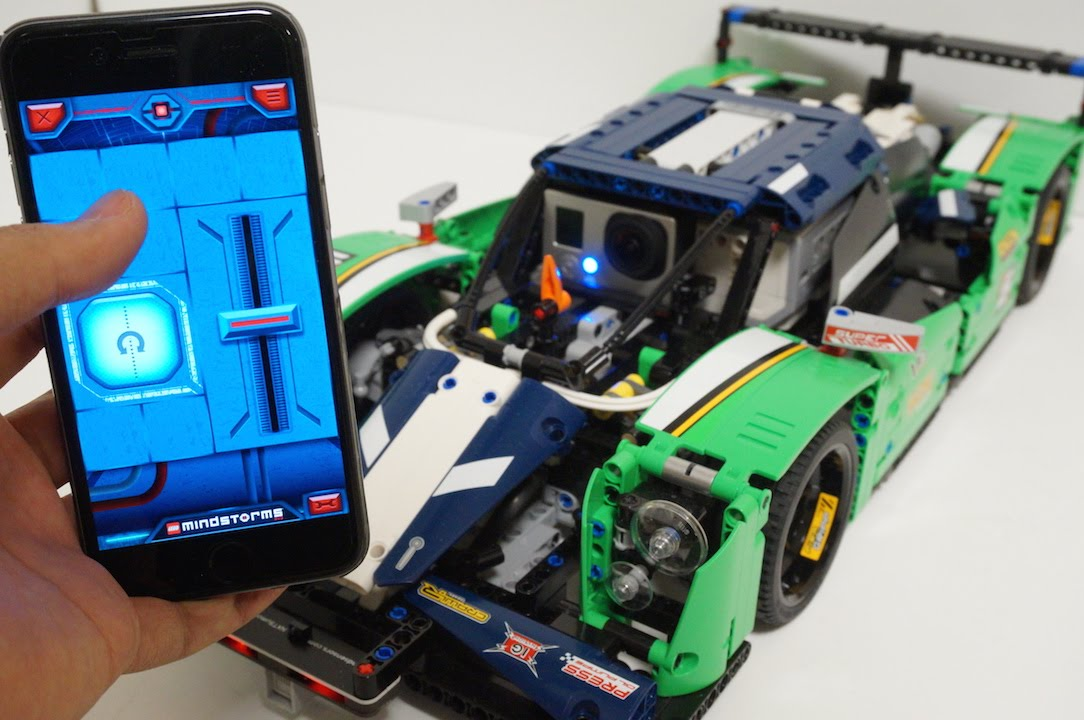 Lego Technic  Hour Race Car With Power Functions