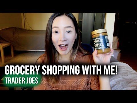 跟我一起逛美國超市♫ ♬ ♪   Grocery Shopping With Me   Trader Joe's Haul