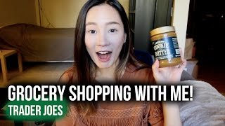 跟我一起逛美國超市♫ ♬ ♪ | Grocery Shopping With Me | Trader Joe's Haul thumbnail