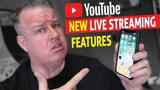 *NEW*  YouTube Live Streaming Features
