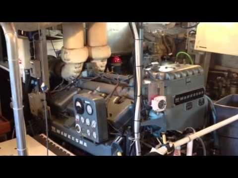Waukesha L1616 3000hrs Marine Engine