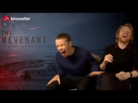 Interview Will Poulter & Domhnall Gleeson THE REVENANT