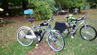 My 49cc Bike motor kits, Huffy Cruiser and Mountain Bike/ Massachusetts Registration $40