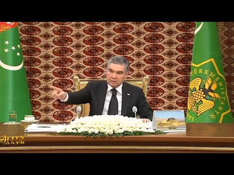 'You're Fired': Turkmen President Dumps Interior Minister On TV