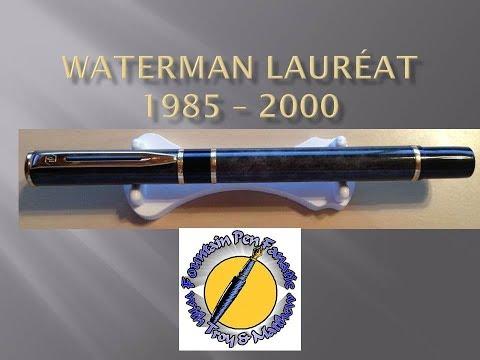 Waterman Lauréat fountain pen