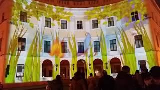 Одесса. Новогоднее лазерное 3D шоу от Raffaello.Приморский бульвар. Восторг !