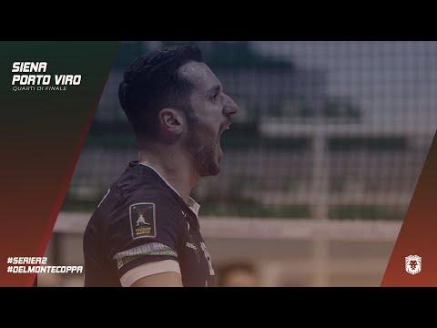 EMMA VILLAS AUBAY SIENA   Quarti di Finale Del Monte Coppa #SienaPortoViro - Romolo Mariano