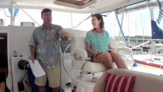 antares 44 barefeet sailing around the world in a catamaran part 1
