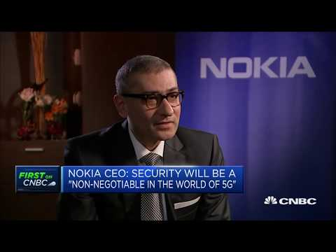 Nokia CEO warns 5G implementation 'will be delayed in Europe