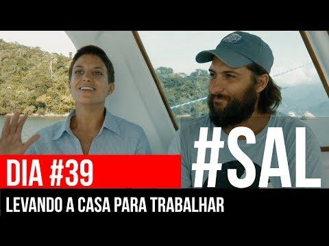 LEVANDO A CASA PARA TRABALHAR | #SAL #39 I Conheça o veleiro Beijupirá