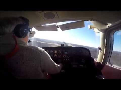Huntington Tri  State Airport Landing