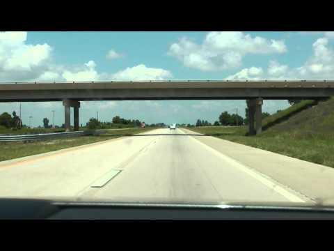 I-55 north from Blytheville, AR to Hayti, MO and junction with I-155
