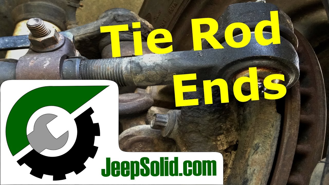 tie rod replacement jeep wrangler tie rods youtube rh youtube com 1990 Jeep Wrangler 1988 Jeep Cherokee