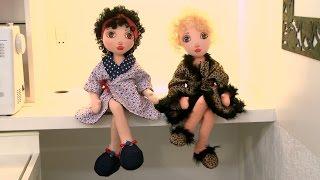 Ana Neri Morandi ensina a colocar o cabelo e montar a boneca porta papel – Passo a passo