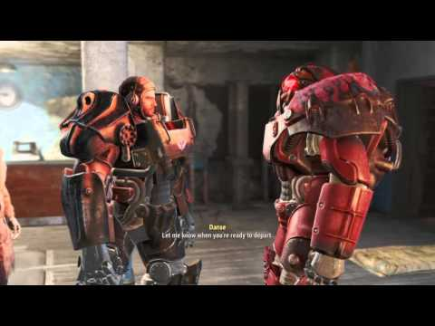 Fallout 4 X-01 Armor Gameplay