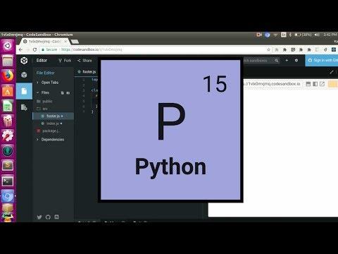 Python Tutorial:7E (Bubble Sort) | Coding Elements
