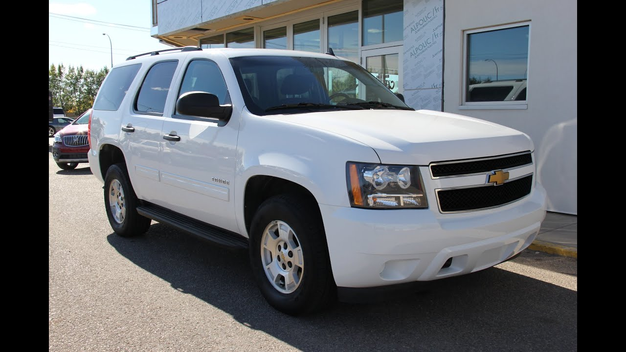 Pre owned 2014 chevrolet tahoe ls for sale in medicine hat ab youtube