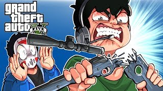 GTA 5 - THIS DEATHRUN ANGERED NOGLA! (Funny Moments)