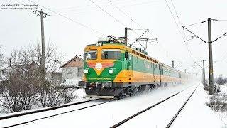 Trenuri prin ninsoare în Timișoara / Winter Trains in Timisoara