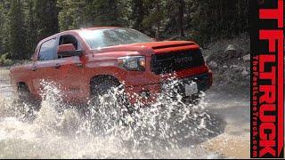 2015 Toyota Tundra TRD Pro Muddy, Snowy, Rocky & Doggy Off-Road Review