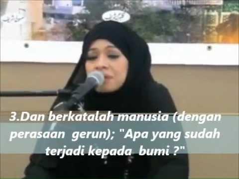 Quran recitation - Sharifah Khasif Fadzilah Syed Badiuzzaman (Malaysia)
