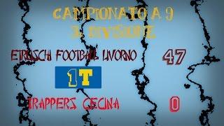 Etruschi Livorno Vs Trappers Cecina (1T) (47-0)
