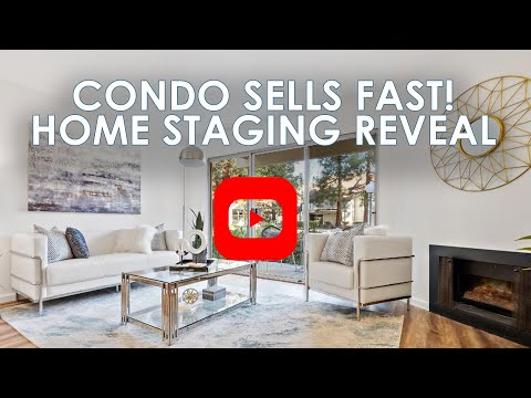 SAN JOSE CONDO SELLS FAST WITH HOME STAGING | Bay Area Real Estate 2020
