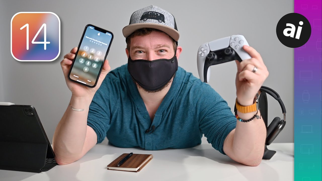 Everything new in iOS 14.5: Mask unlock, ATT, new controller support, more