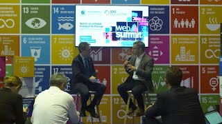 Sports as a Global Catalyst for Change - SDG Media Zone at Web Summit 2019