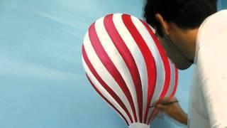 Mural Painting - Hot Air Balloons