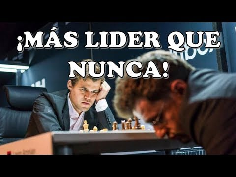 ¡ESTÁ EN LLAMAS!: Carlsen vs Aronian (Altibox Norway Chess, 2018)