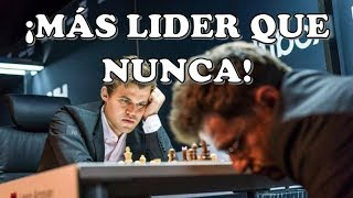 ¡ESTÁ EN LLAMAS!: Carlsen vs Aronian (Altibox Norway Chess, 2018)