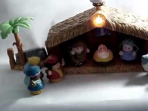 little people nativity on ebay youtube
