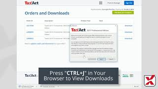 TaxAct Professional | How to Download and Install Your Software