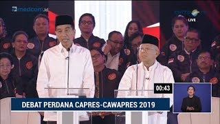 Download Video Debat Pilpres 2019 Part 2 - Jokowi Skak Prabowo Soal Penegakan Hukum MP3 3GP MP4