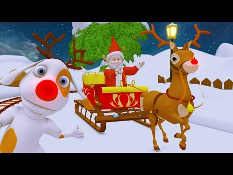 Jingle Bells | Christmas Songs | Christmas Cartoon | Baby Music & Nursery Rhymes for Kids Collection