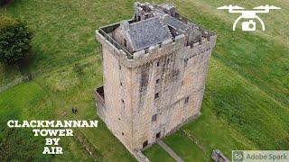 Clackmannan tower by Air