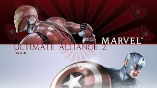 Marvel: Ultimate Alliance 2 (Anti-Registration) [25] PS4 Longplay