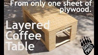 Make a Plywood Coffee Table - Rockler Plywood Challenge