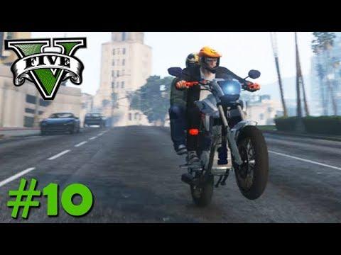 GTA V: BRASIL ROLEPLAY - VIREI O MOTO UBER mais INSANO!!! #10