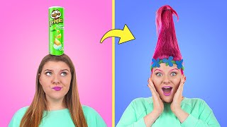 11 странных причесок и идей для волос
