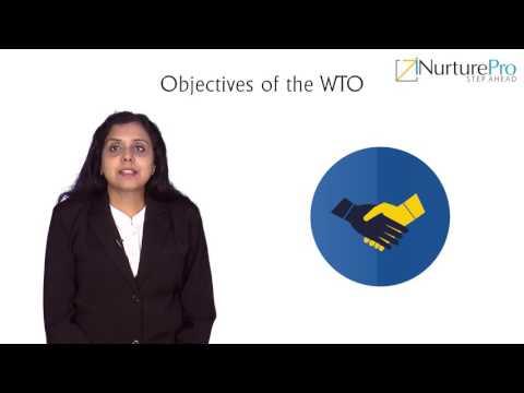 DBE-IIB M02 C01 V01 Objectives of World Trade Organisation