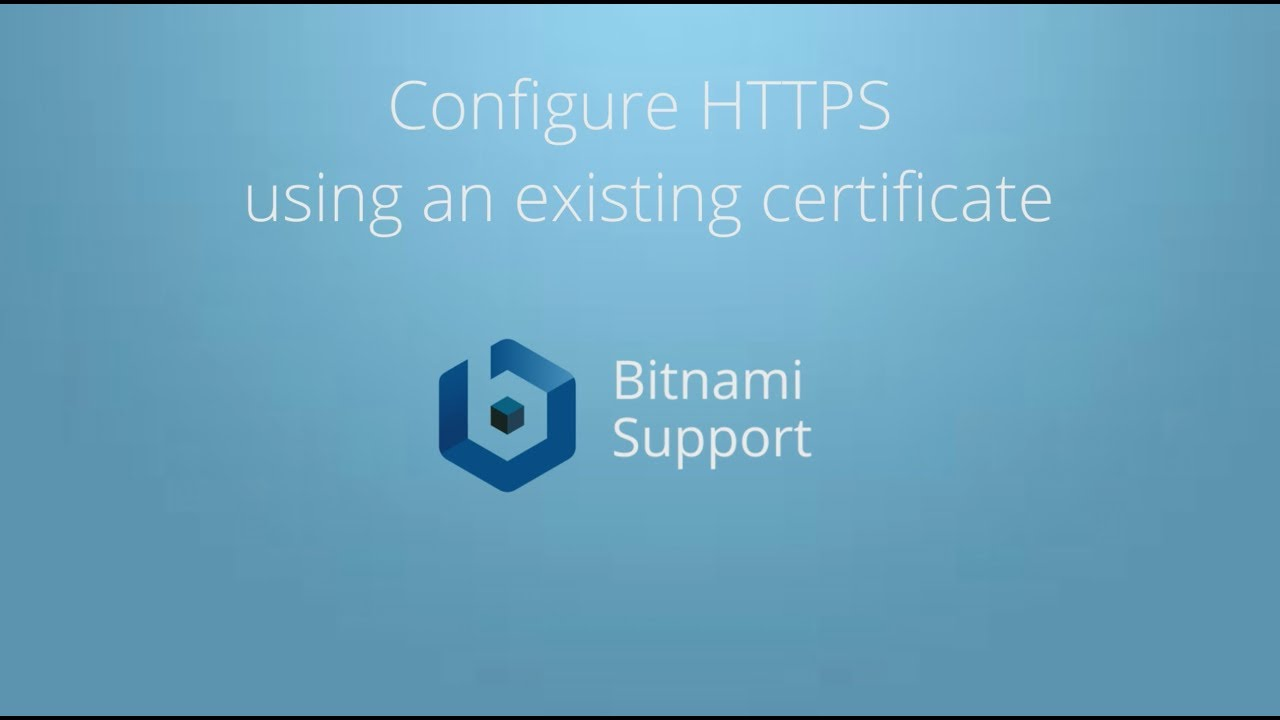 Enable HTTPS support with Apache