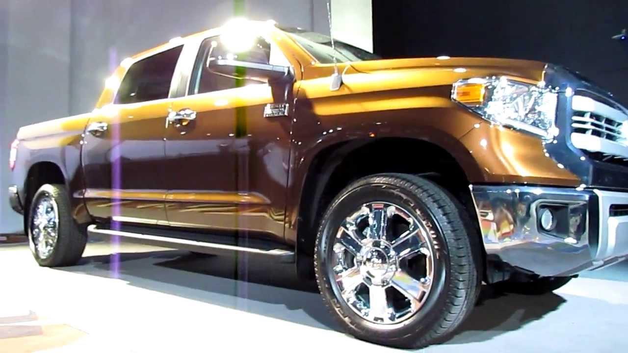 Tundra 1794 Edition >> THE ALL NEW 2014 Toyota Tundra 1794 Texas Edition Walk ...