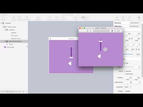 Flinto for Mac Volume Slider Tutorial