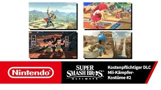 Super Smash Bros. Ultimate – Mii-Kämpfer-Kostüme 2 (Nintendo Switch)