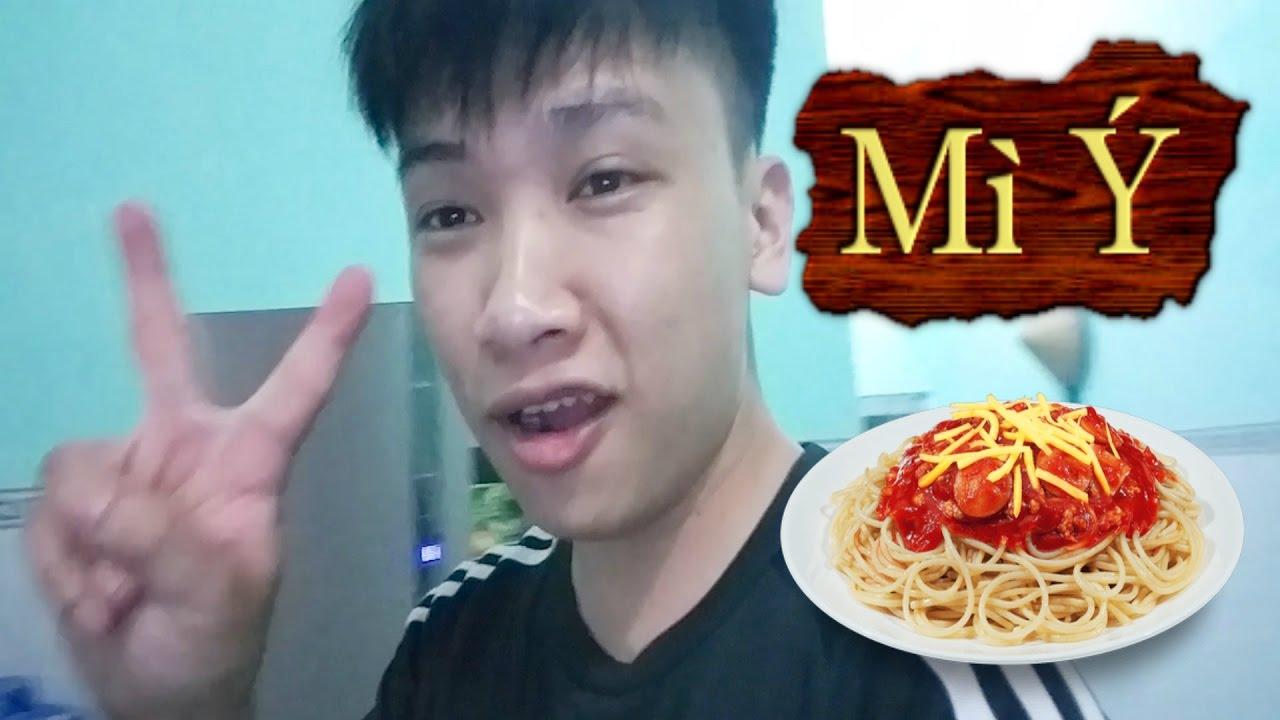 Hướng Dẫn Làm Mì Ý :  Spaghetti  Sốt Bò Bằm