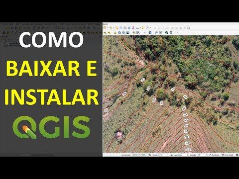Como fazer o Download e Instalar o Software QGIS | Tutorial thumbnail